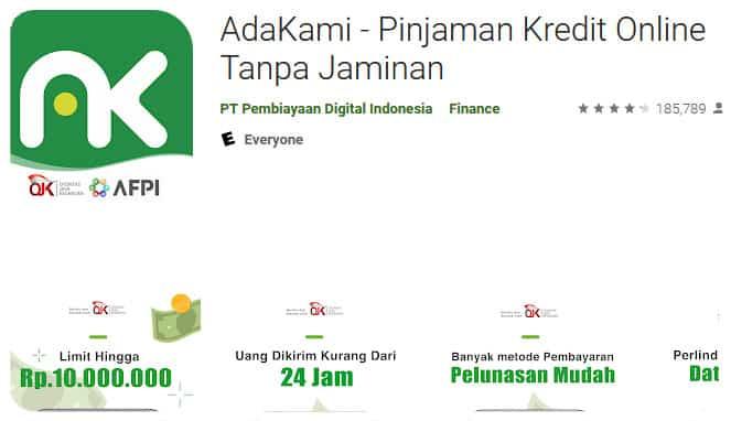 Pinjaman dana online cepat cair dan mudah