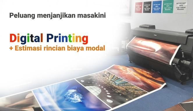 Bisnis digital printing Usaha yang menjanjikan 2021
