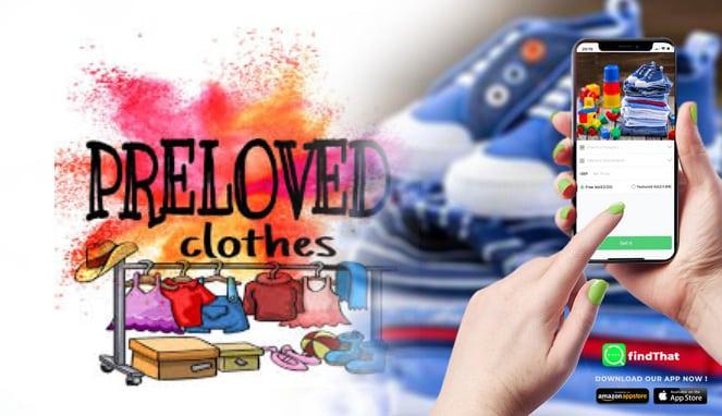 Membeli barang preloved online
