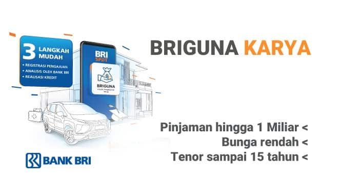Pinjaman briguna karya bank BRI