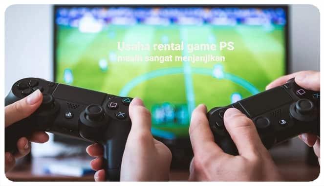 Bisnis rental game PS4