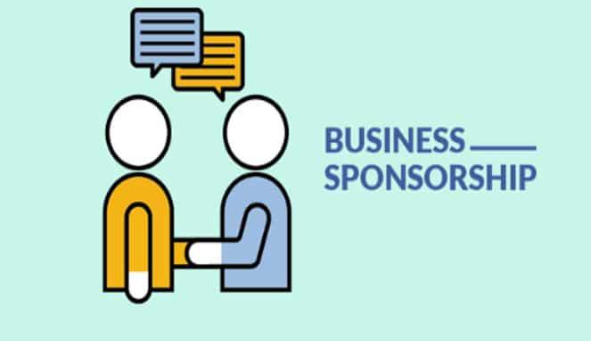 sponsor dari perusahaan
