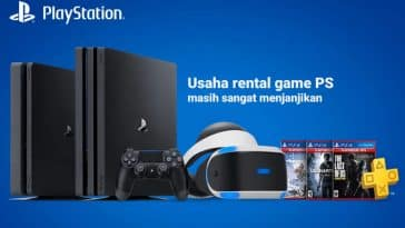 Usaha rental game playstation
