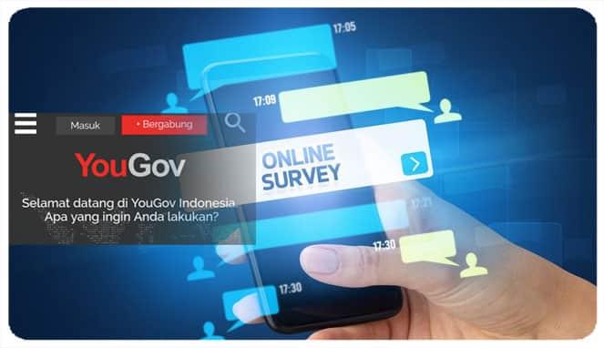 Survey online cara menghasilkan uang lewat HP